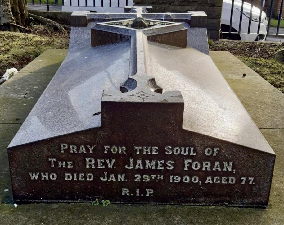 Fr. James Foran's Grave, Blackhill
